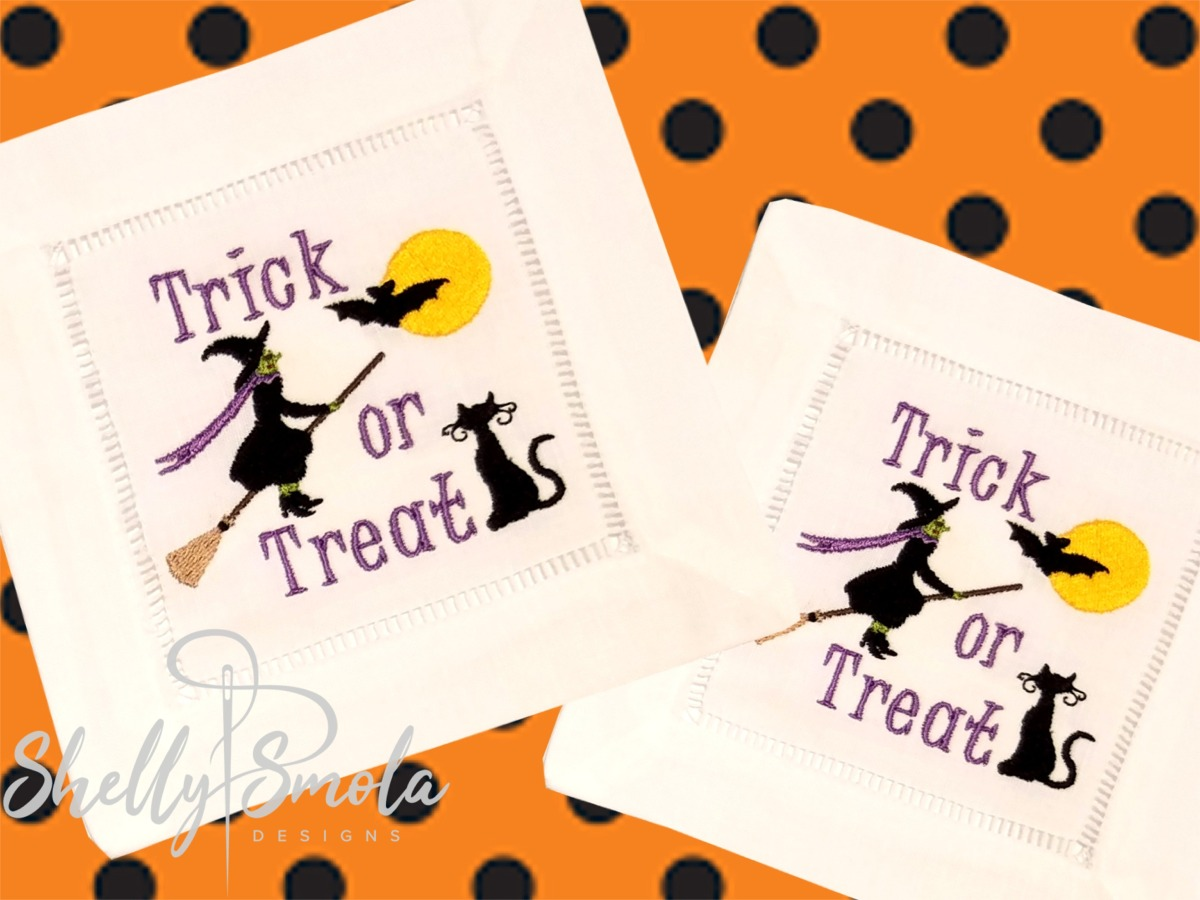Trick or Treat Coasters by Shelly Smola