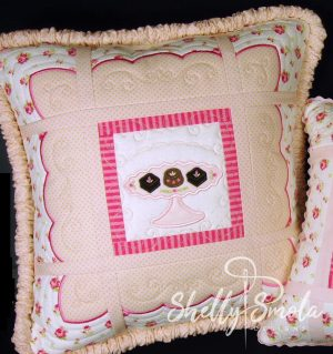 Chocolate Pillow by Shelly Smola