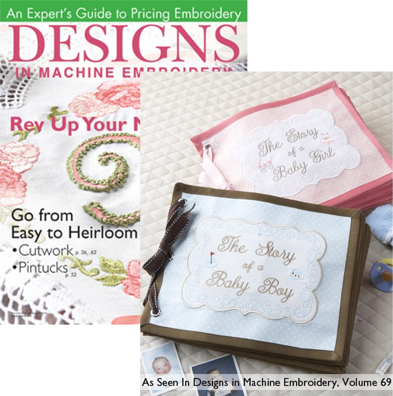 Designs in Machine Embroidery Jul/Aug 2011