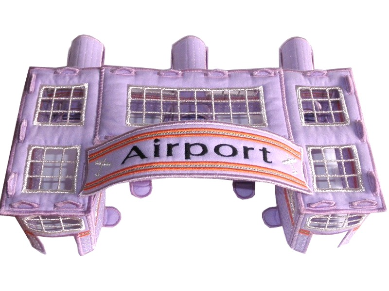 Bedtime Airline Terminal by Shelly Smola