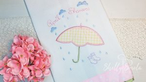 April Showers Tea Towel by Shelly Smola