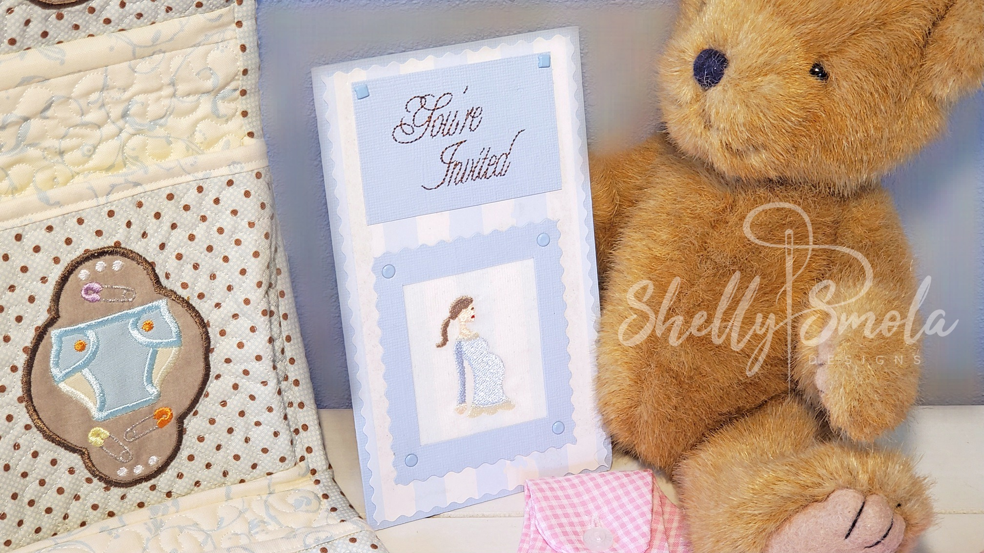 Babes and Toys Card by Shelly Smola