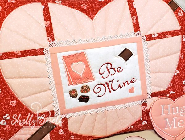 Be Mine Serving Set by Shelly Smola