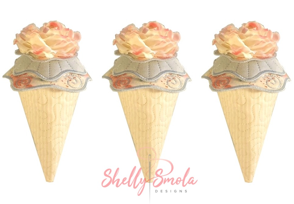 Candy Cones by Shelly Smola
