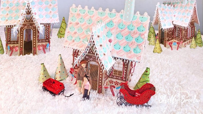 Candy Lane Cottage by Shelly Smola