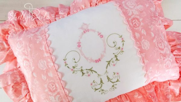 Embroidery Floral Design
