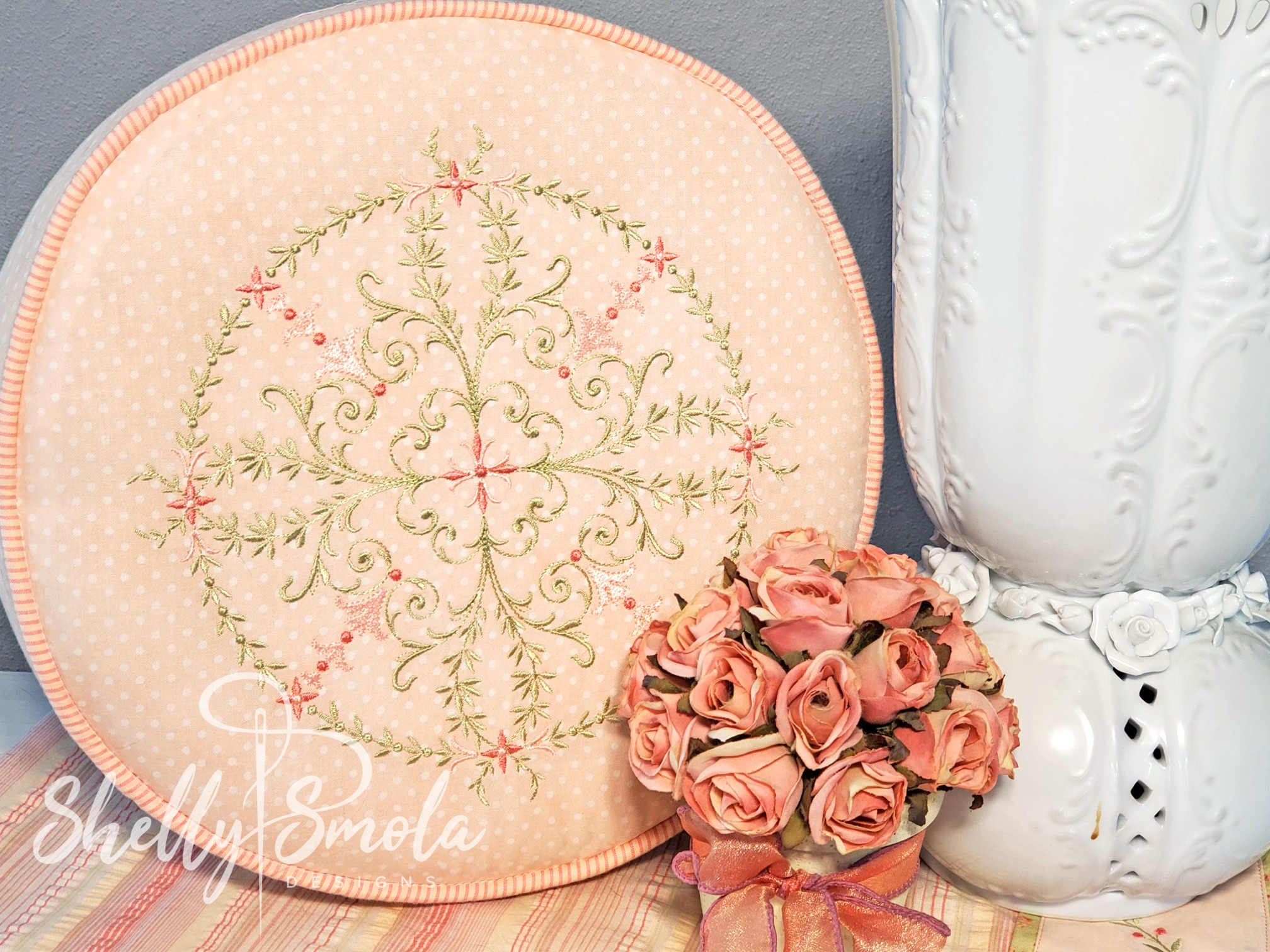 Cinderella Corners 3 Pillow by Shelly Smola