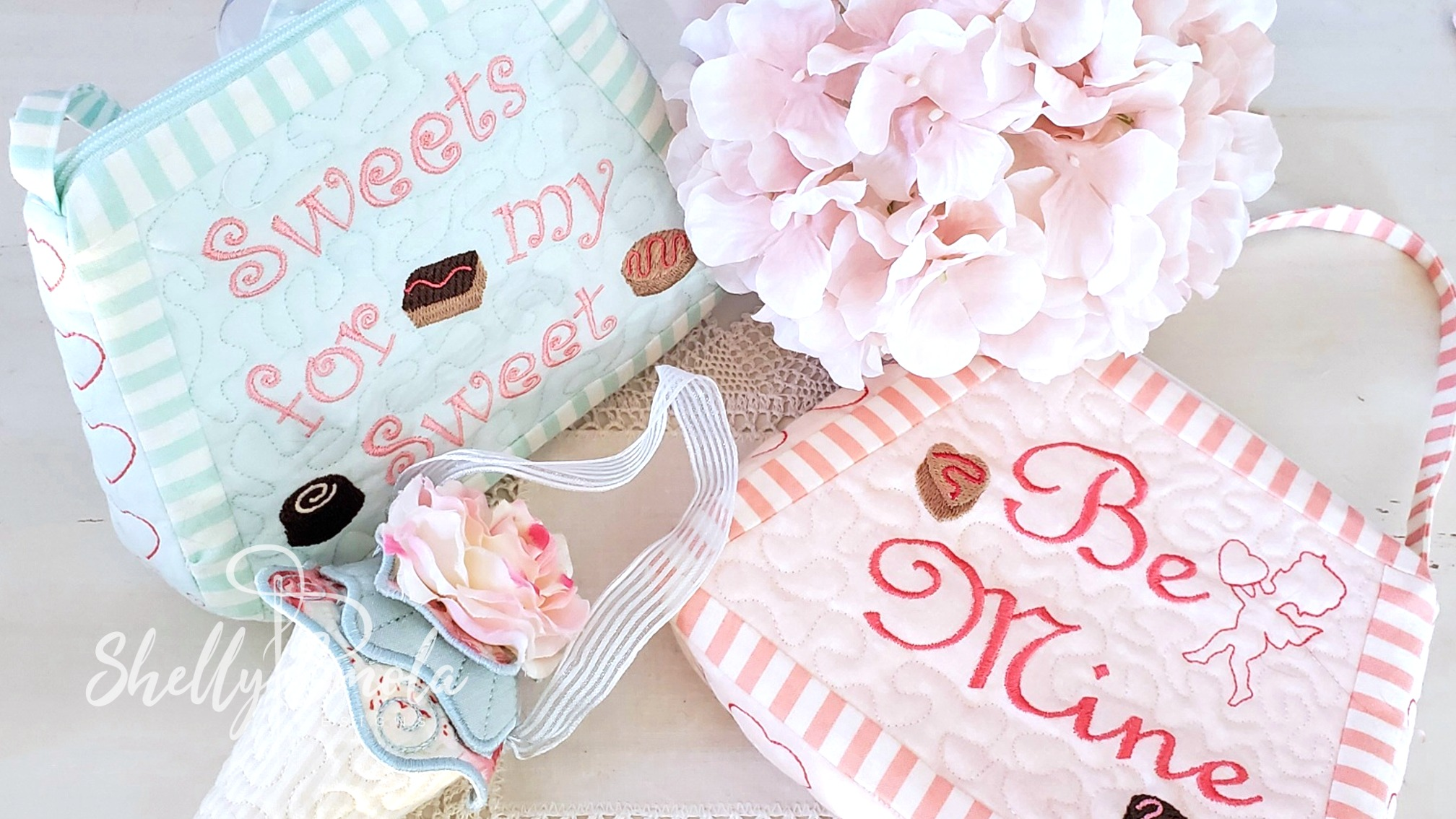 Candy Clutches by Shelly Smola