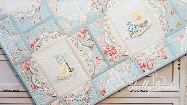 Cozy Cottage Quilt by Shelly Smola