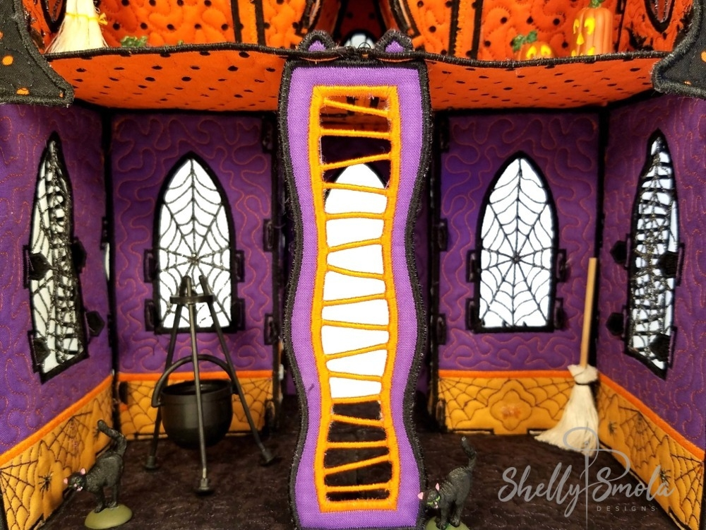 Inside the Creepy Cottage by Shelly Smola Designs