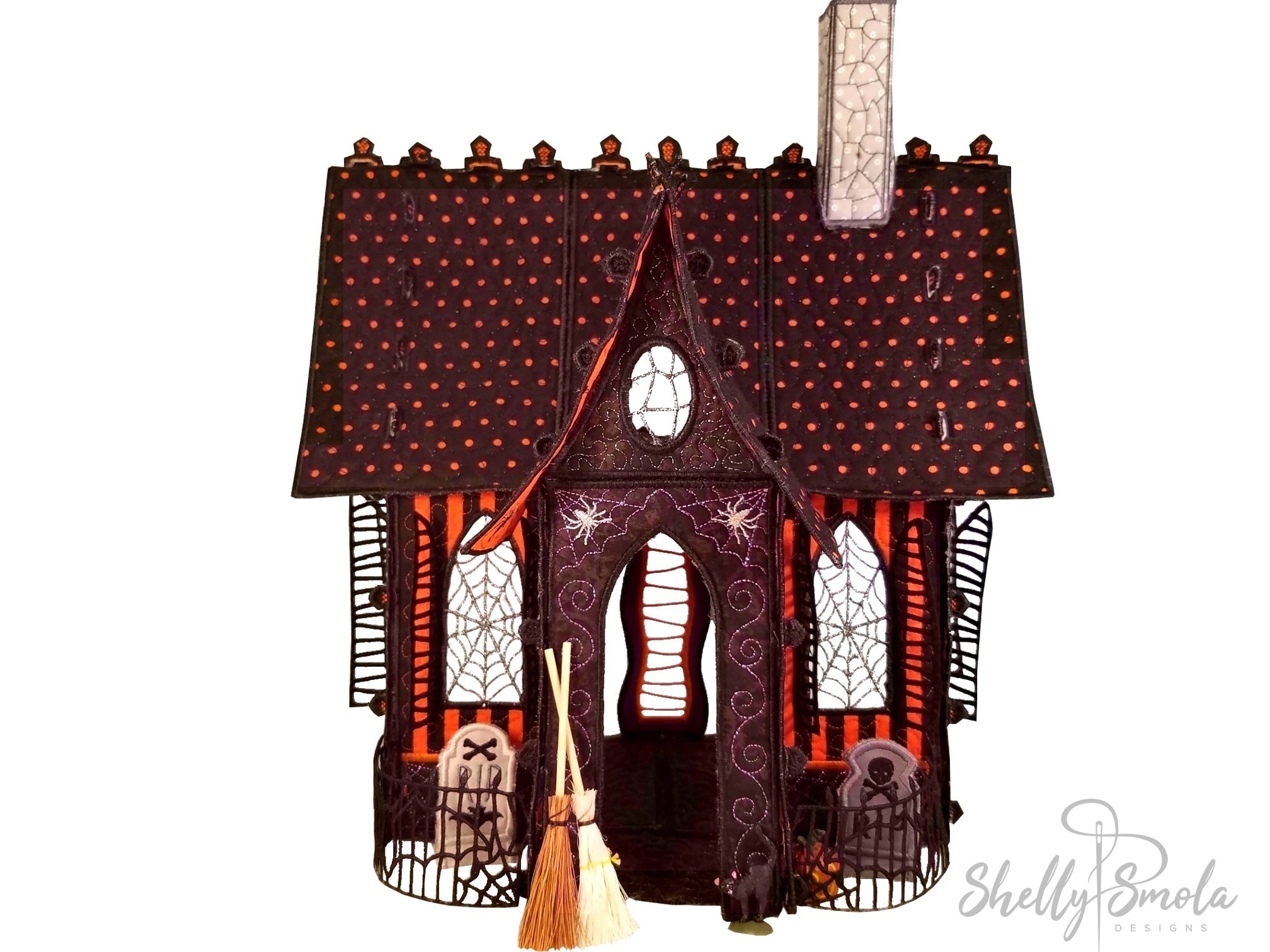 Creepy Cottage by Shelly Smola Designs
