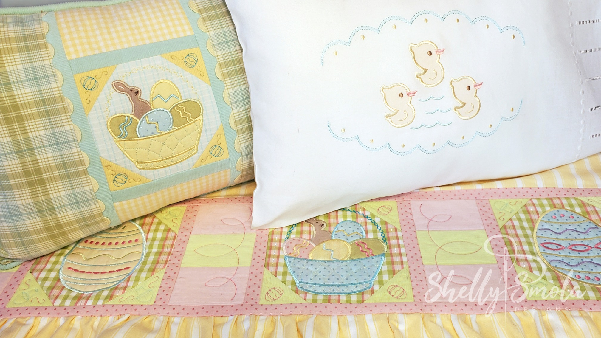 Easter Basket Quilt by Shelly Smola