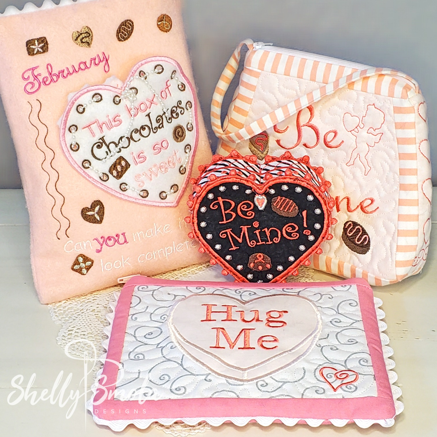 Valentine Projects by Shelly Smola