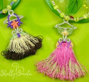 Hula Tassels by Shelly Smola