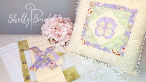 Pansy Pillow Kit by Shelly Smola