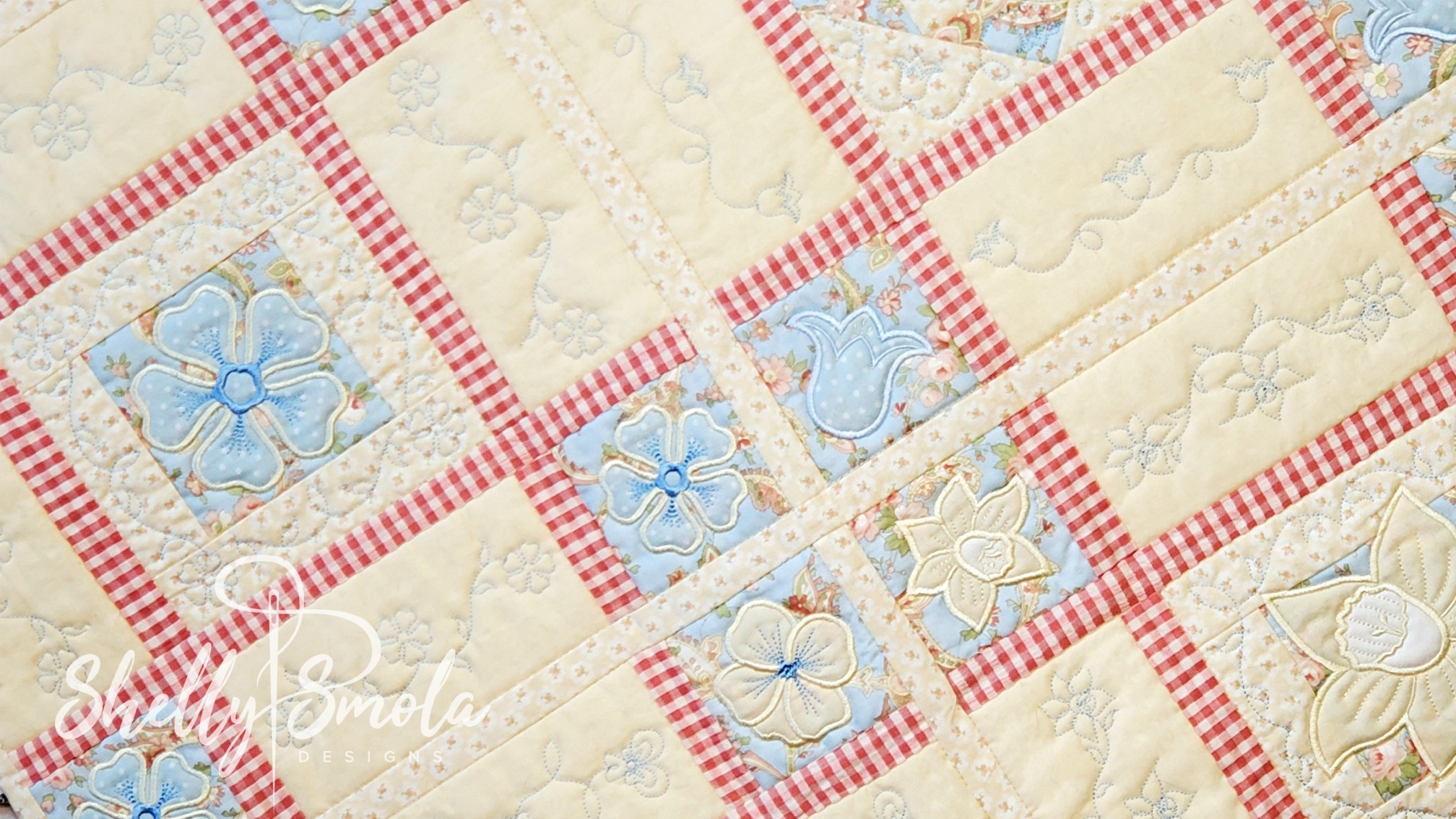 Spring Quilt by Shelly Smola
