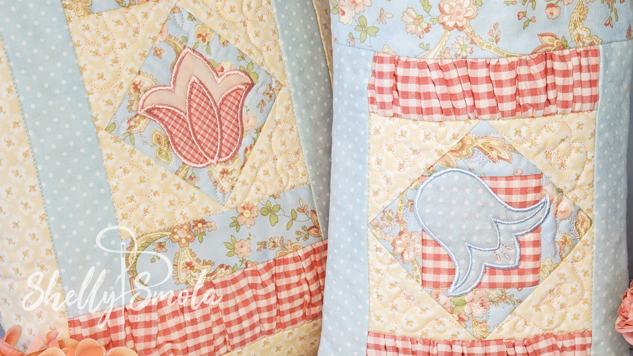 Spring Quilt Bags by Shelly Smola