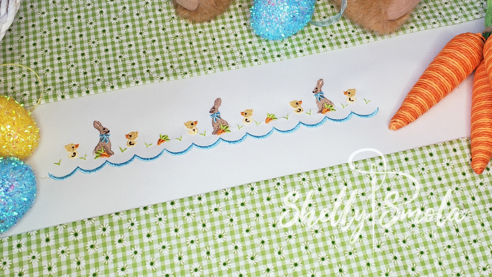 Spring Accent Border by Shelly Smola