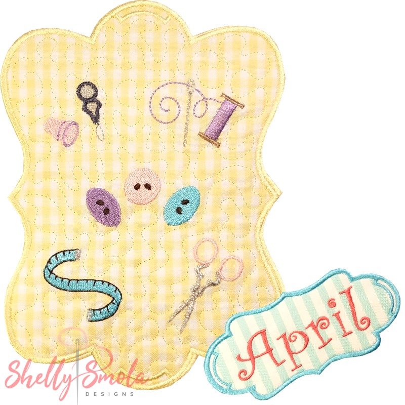 Sew Seasonal - April by Shelly Smola