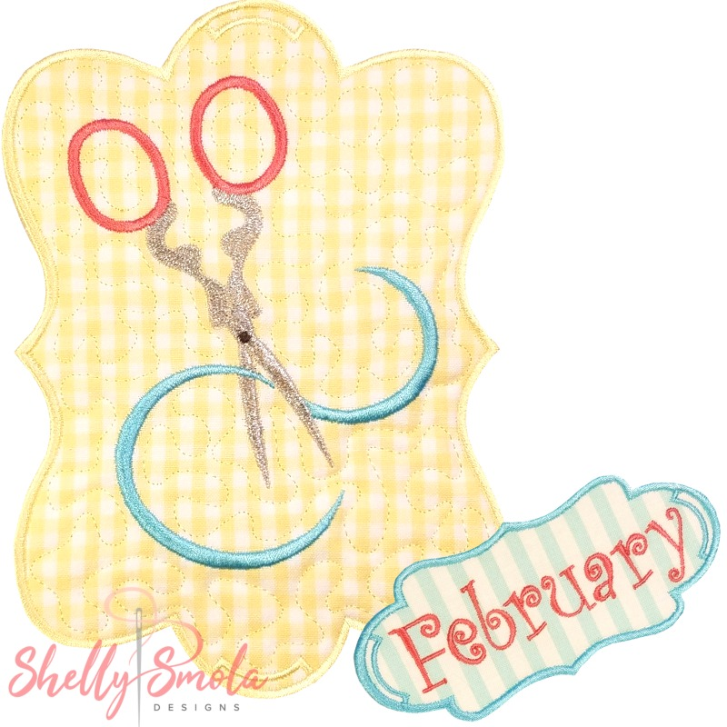 Sew Seasonal - February by Shelly Smola