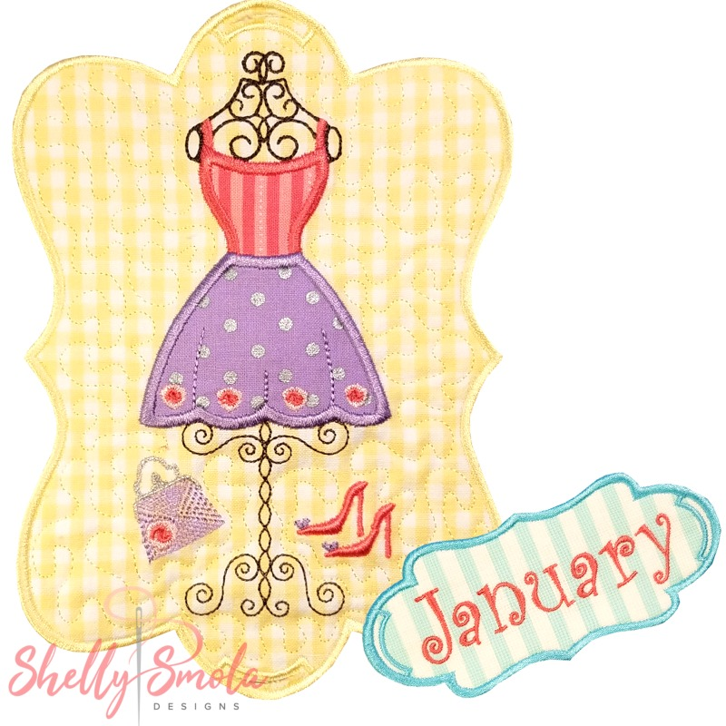 Sew Seasonal - January by Shelly Smola