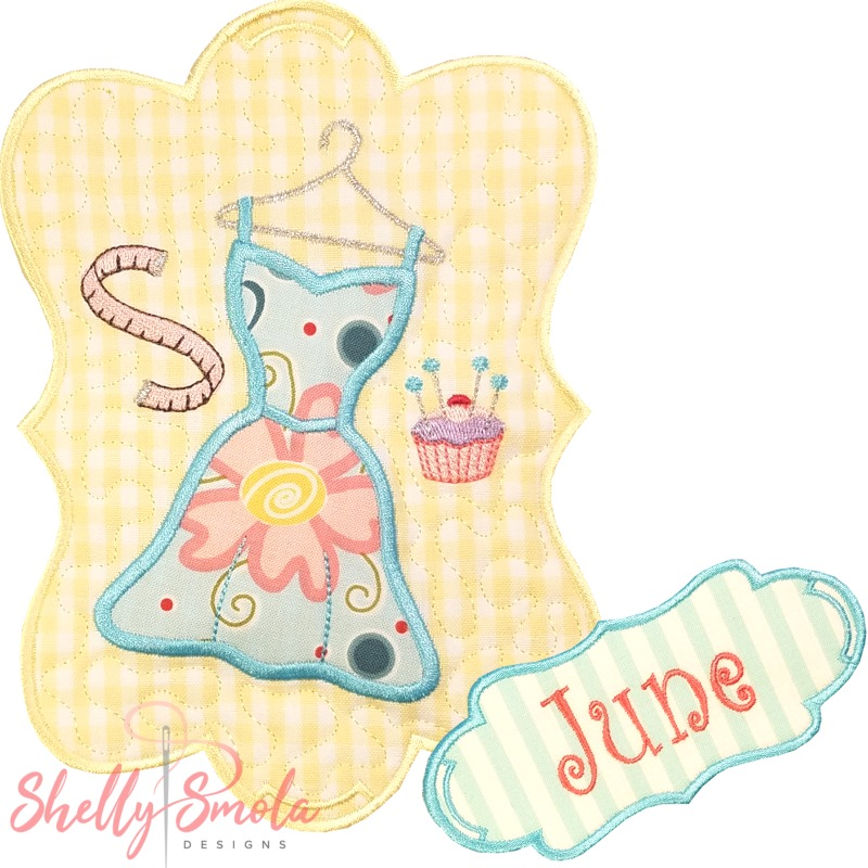 Sew Seasonal - June by Shelly Smola