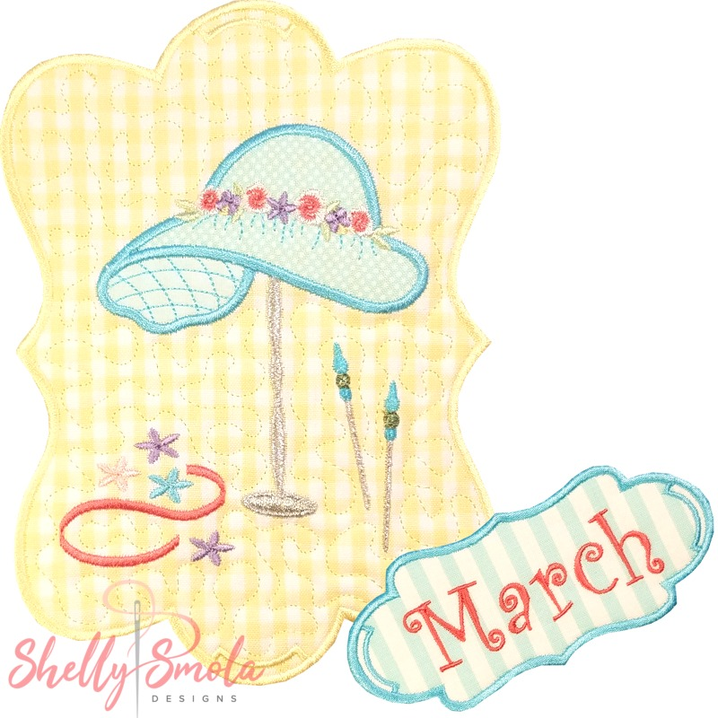 Sew Seasonal - March by Shelly Smola