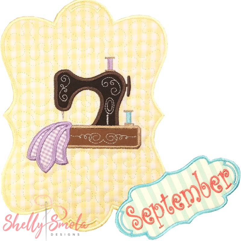 Sew Seasonal - September by Shelly Smola