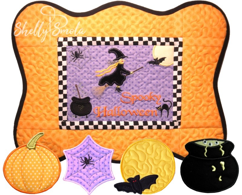 Spooky Serving Set by Shelly Smola