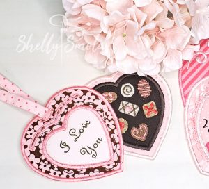 February Tags by Shelly Smola