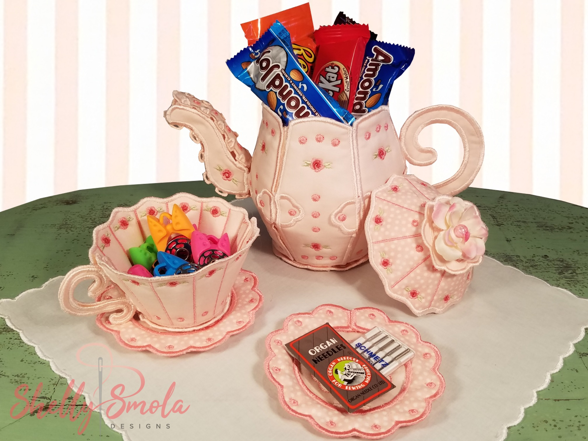 Tea for Two with Chocolate by Shelly Smola