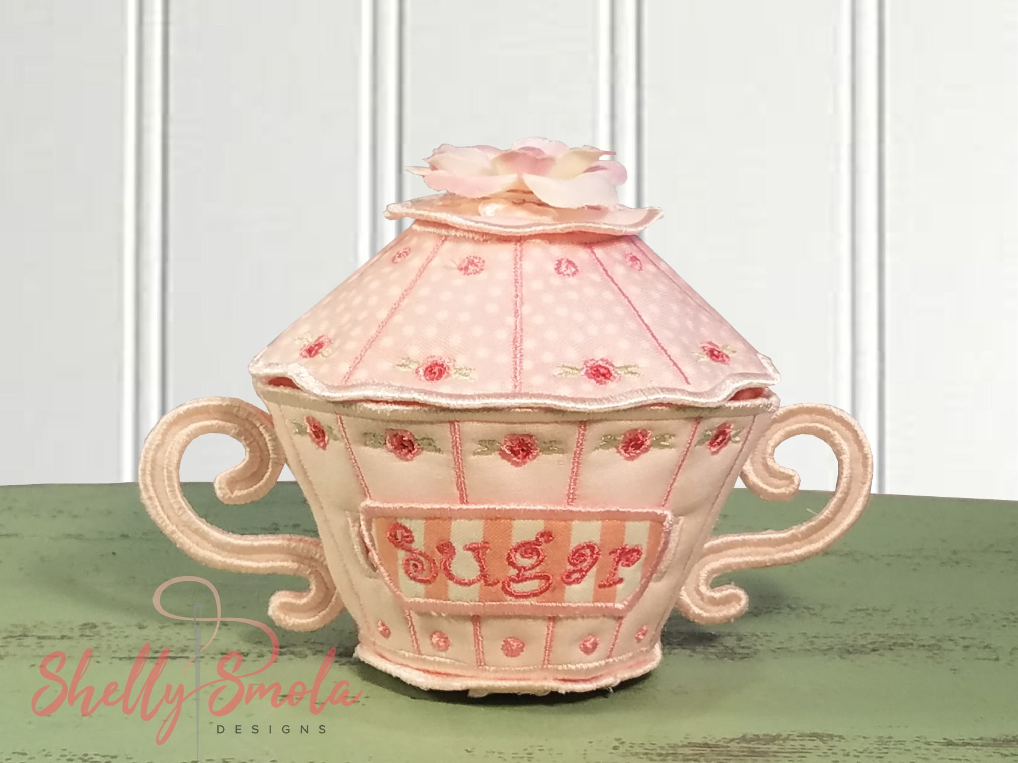 Tea for Two Sugar Dish by Shelly Smola