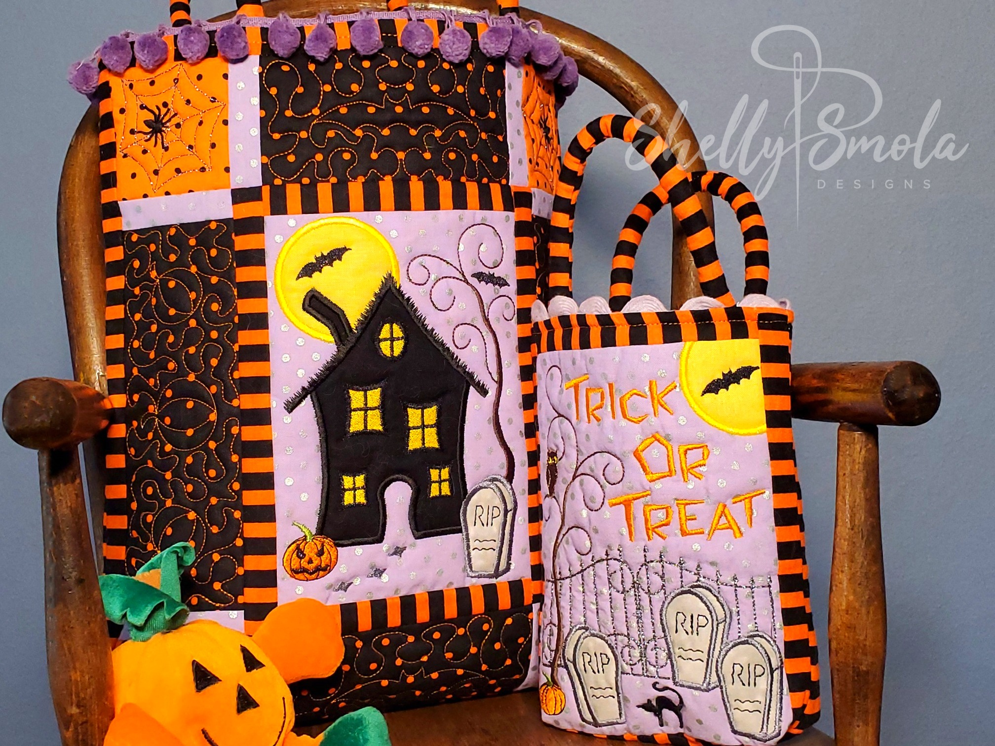 Halloween Bags by Shelly Smola