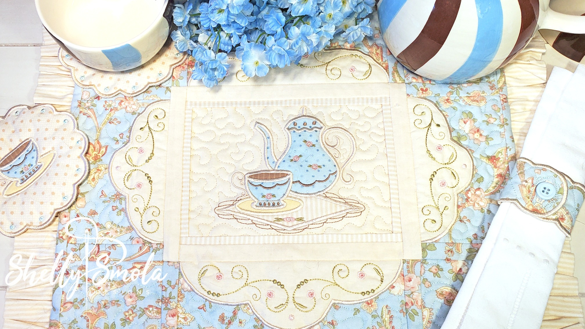 Tea Time Collection by Shelly Smola
