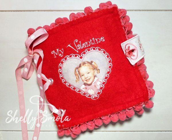 Valentine Quiet Book by Shelly Smola