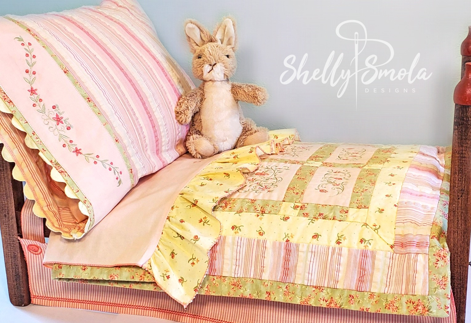 Doll Bed by Shelly Smola