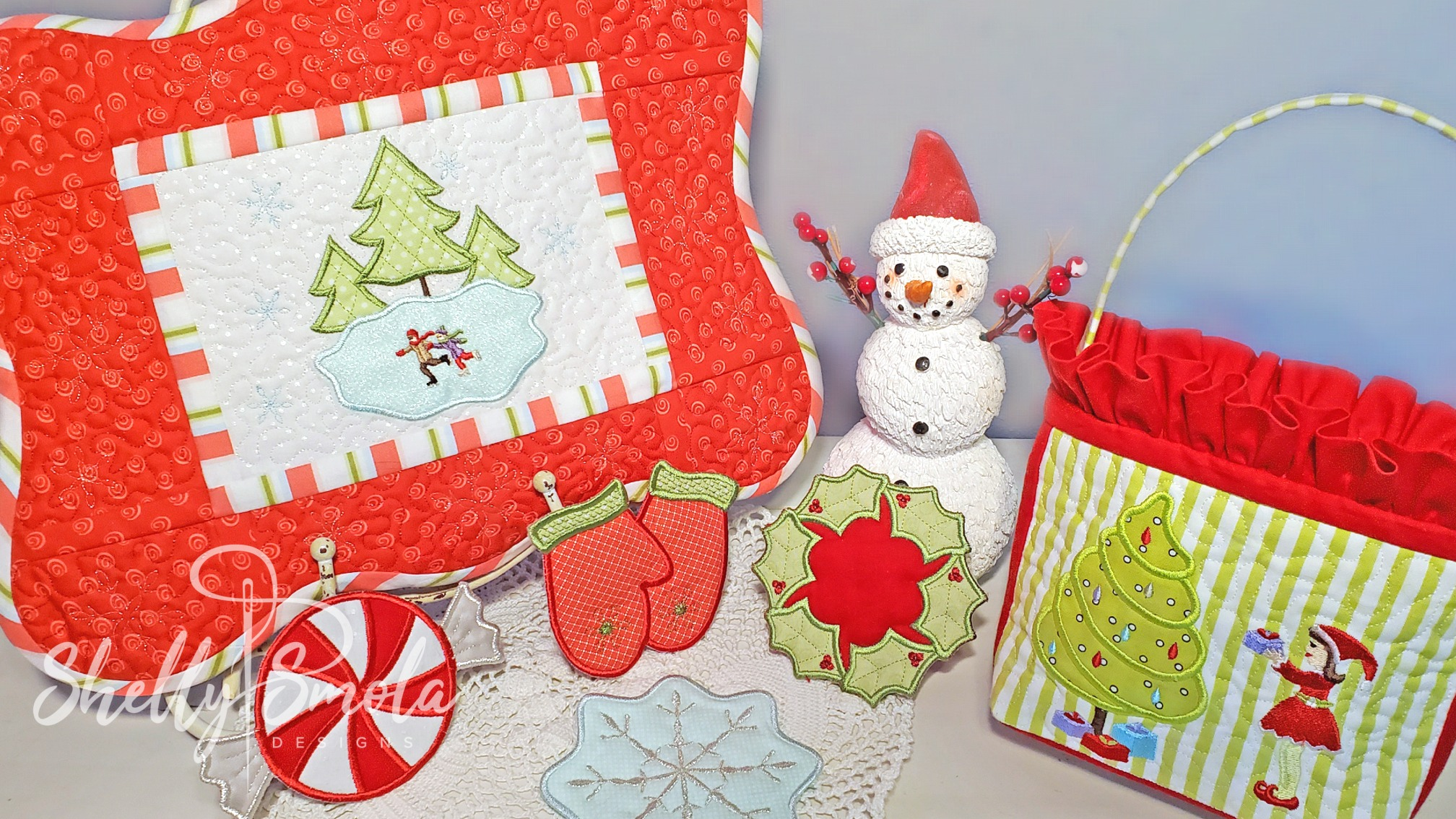 Winter Wonderland Party Set by Shelly Smola