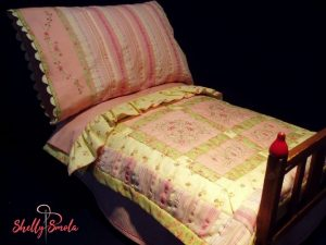 Doll Bed Ensemble