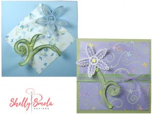 Fancy Flowers Cards