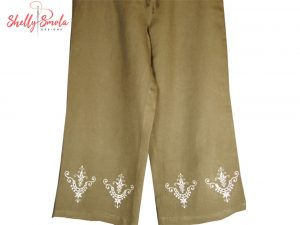 Heirloom Cutwork Pants