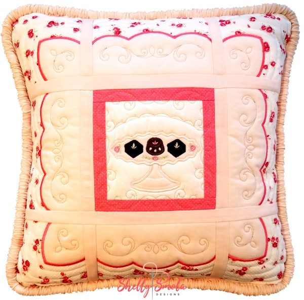 Sweet Temptations Quilt Pillow by Shelly Smola