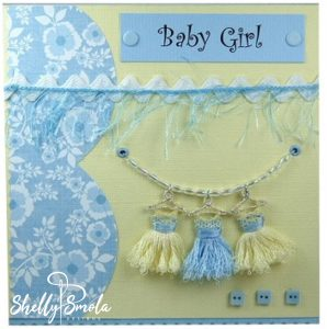 Sample 3a- Baby Girl Card