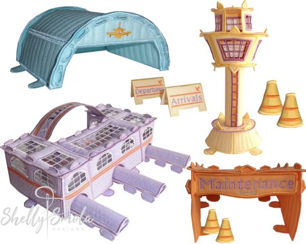 Bedtime Airline Accessories by Shelly Smola