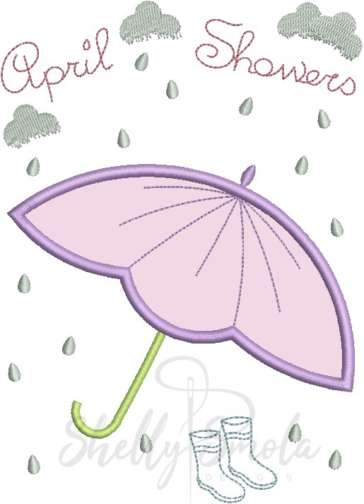 April Showers by Shelly Smola