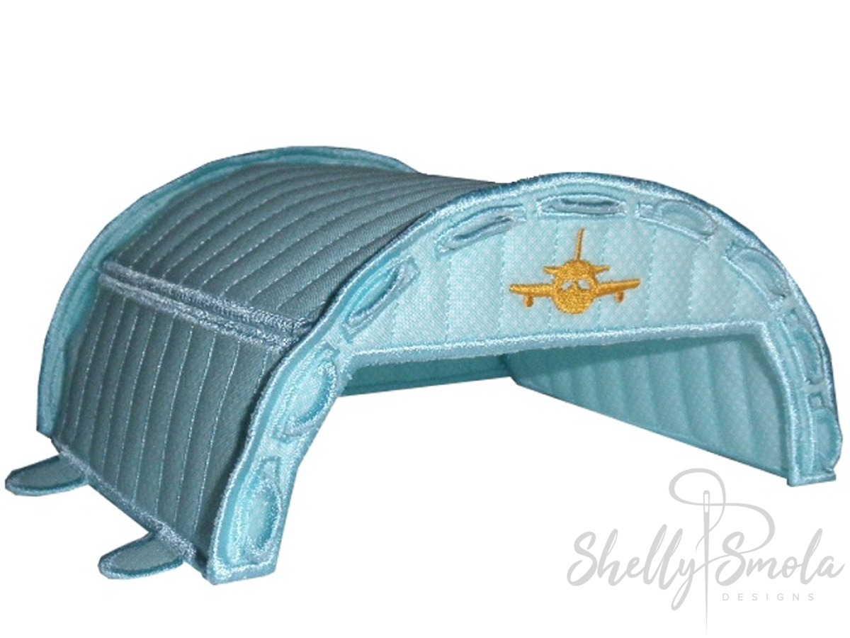 Bedtime Airline Hangar by Shelly Smola