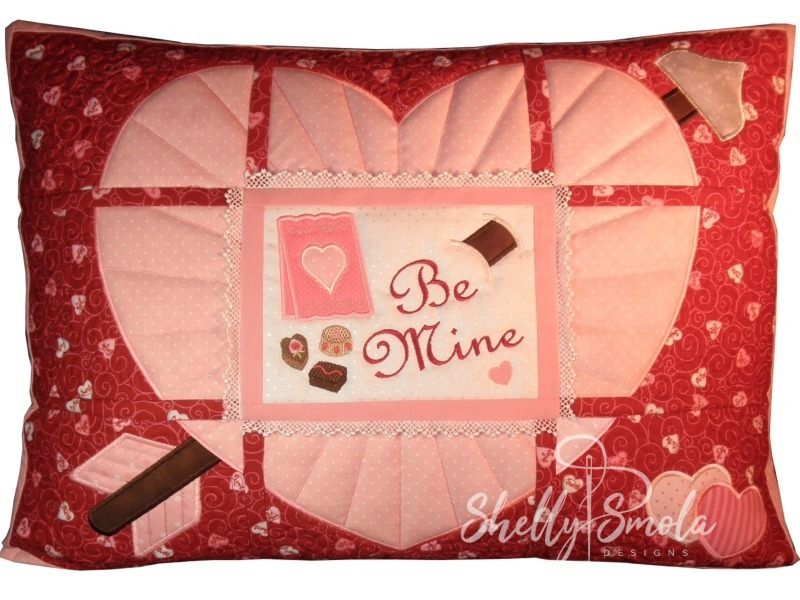 Be Mine Pillow by Shelly Smola