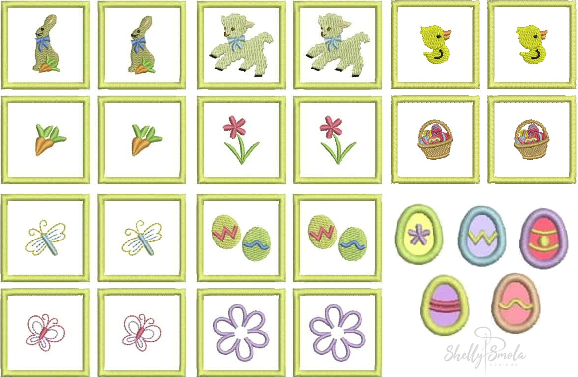 Easter Quiet Book Accessories by Shelly Smola