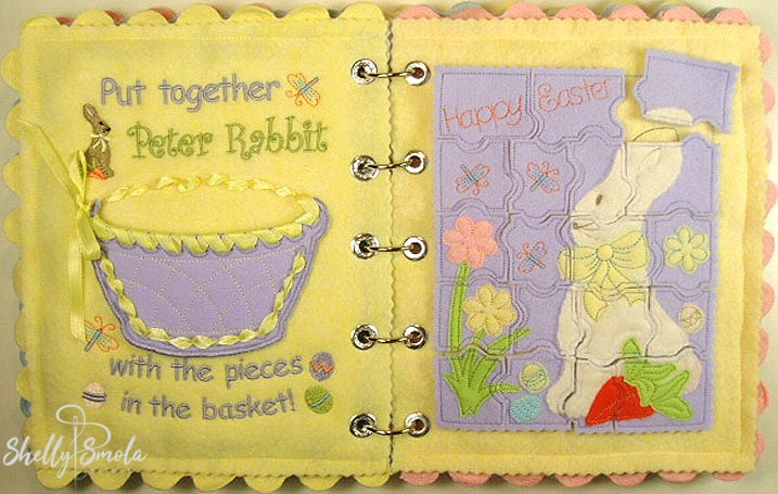 Easter Quiet Book by Shelly Smola
