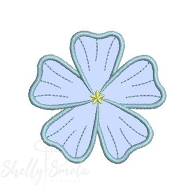 Flower Garden Applique Flax by Shelly Smola