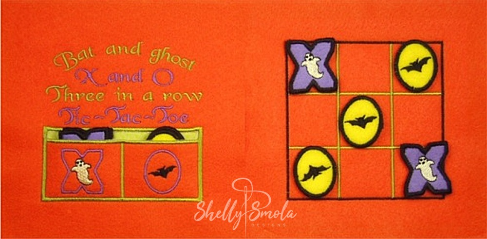 Tic Tac Toe Page by Shelly Smola